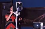 Mass Communication Student using Video Camera at the KOSA TV Station