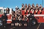 Women's Basketball Team and Odessa Fire Department